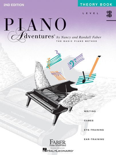 Piano Adventures 3B Theory