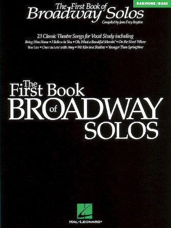 El primer libro de solos de Broadway, barítono / bajo