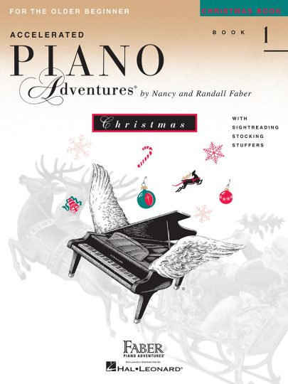 Accelerated Piano Adventures 1 Christmas