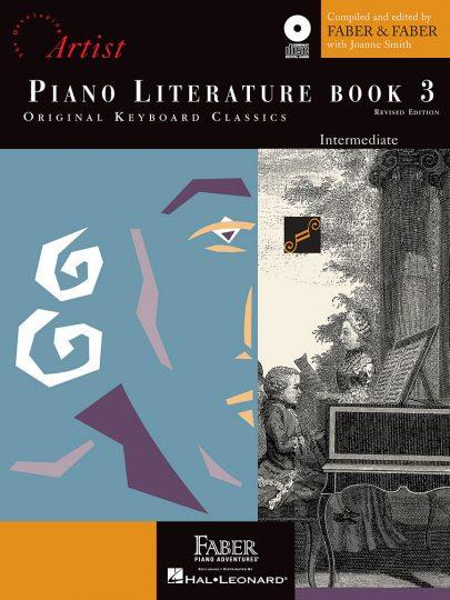 Piano Literature Book 3 with CD