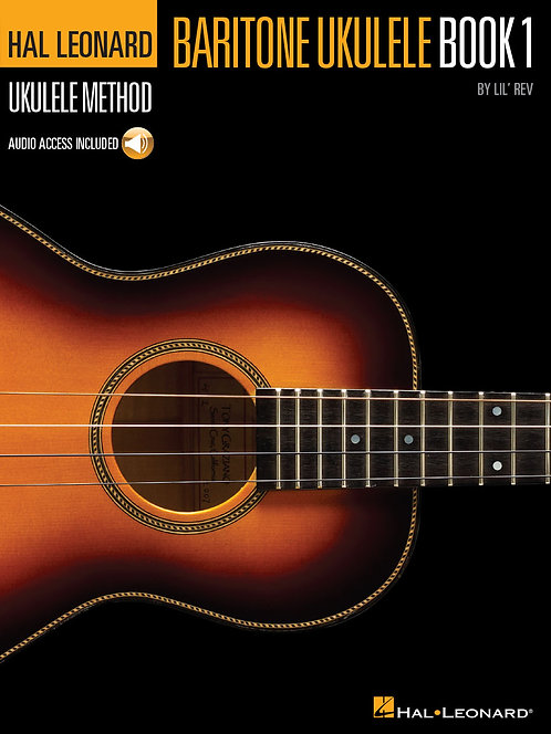 Hal Leonard Baritone Ukulele Book 1 with CD