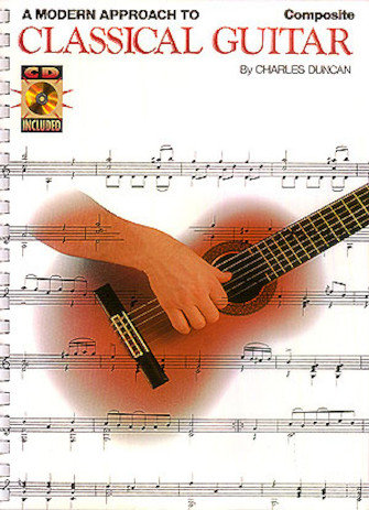 A Modern Approach to Classical Guitar Composite (Books 1, 2 & 3) + CDs