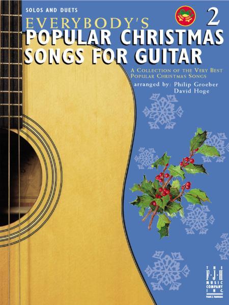 Canciones navideñas populares para guitarra, 2