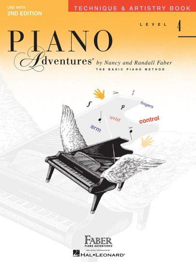 Piano Adventures 4 Técnica y arte