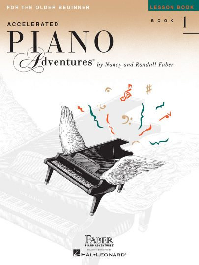 Accelerated Piano Adventures 1 Lesson