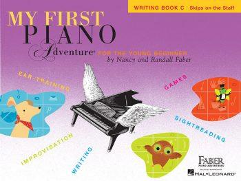 Libro de escritura C de mis primeras aventuras con el piano
