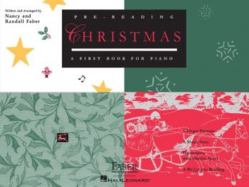 Pre-Reading Christmas - A First Book for Piano