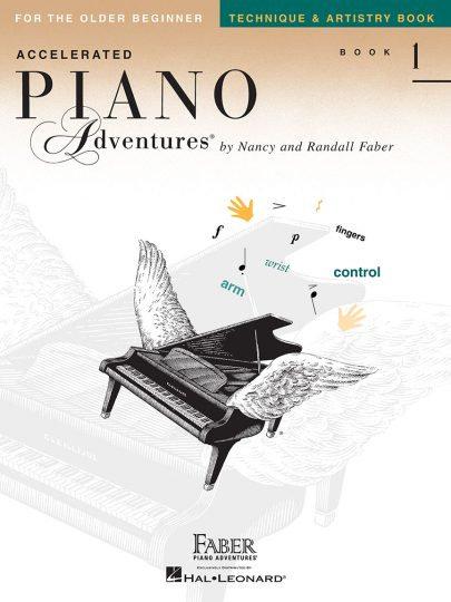 Técnica de Accelerated Piano Adventures 1