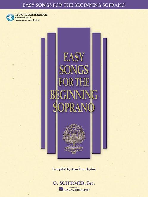 Canciones fáciles para la soprano principiante, con CD