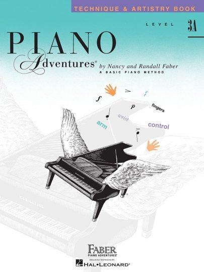 Piano Adventures 3A Técnica y arte