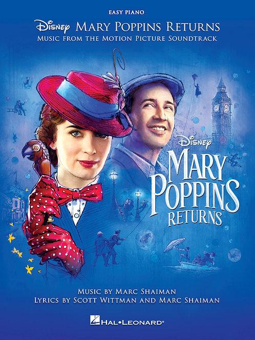 Mary Poppins Returns, Easy Piano