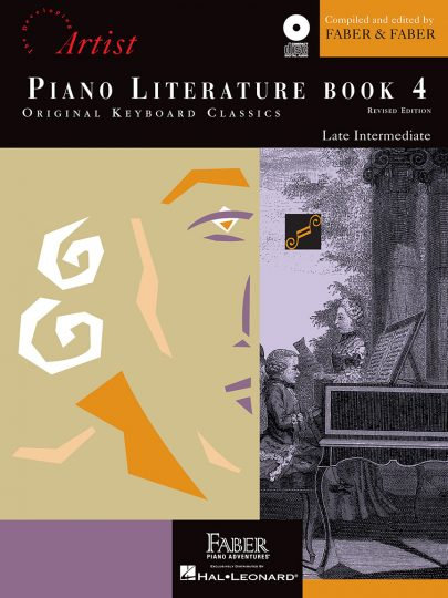 Piano Literature Book 4 with CD