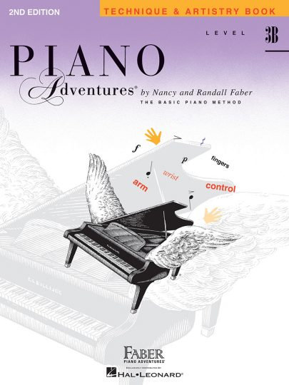 Piano Adventures 3B Technique & Artistry