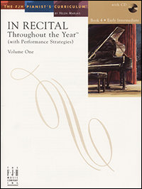 In Recital Throughout the Year, Book 4, Volume 1