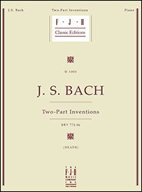 J. S. BACH Two-Part Inventions