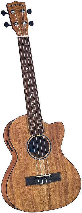 Diamond Head Ukulele - Tenor Cutaway Electric DU-350TCE