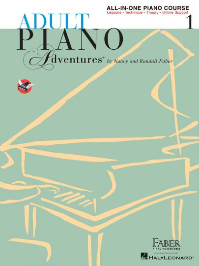 Adult Piano Adventures 1 All-in-One