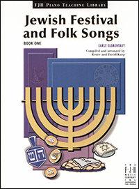 Festival judío y canciones populares, libro uno