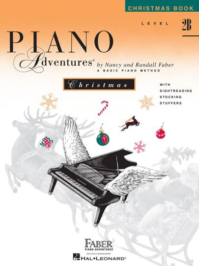 Piano Adventures 2B Christmas