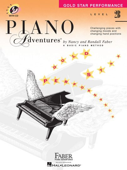 Piano Adventures 2B Gold Star Performance