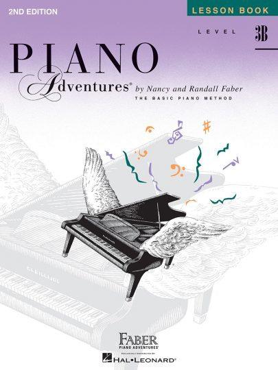 Lección de Piano Adventures 3B