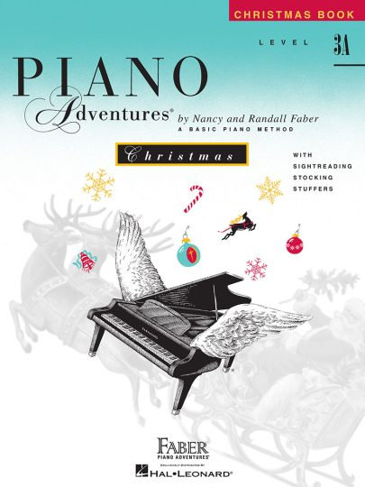 Piano Adventures 3A Navidad