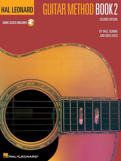Hal Leonard Guitar Method Book 2 con CD