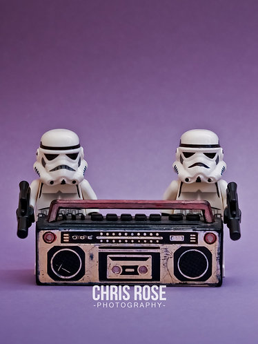 Boombox Troopers