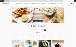 Vitamix recipe page