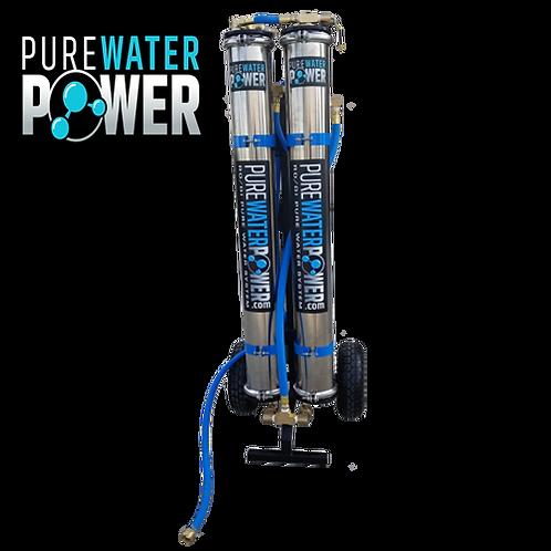 Pure Water Power Dual RODI Cart