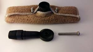 Bronze Wool Pad Holder Kit