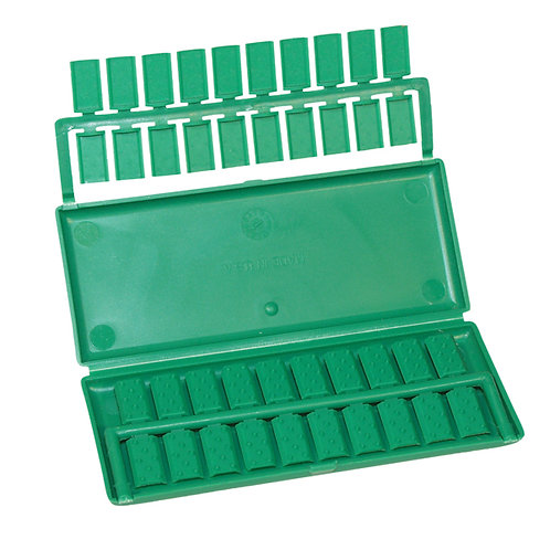 Plastic Clips and Case (Unger)