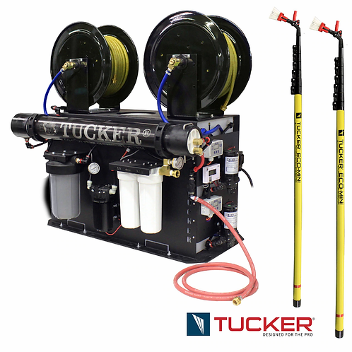 Tucker Dual User Fill N Go Kit w/2 27' Carbon Fiber Poles