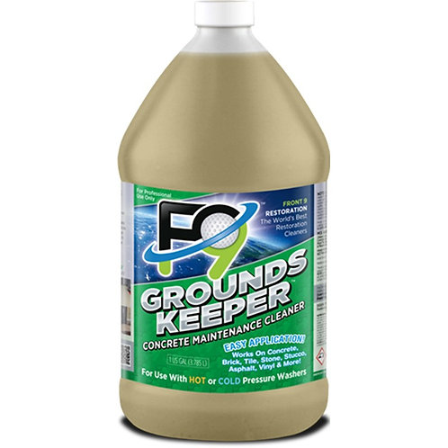 F9 GroundsKeeper Concrete Cleaner Gal