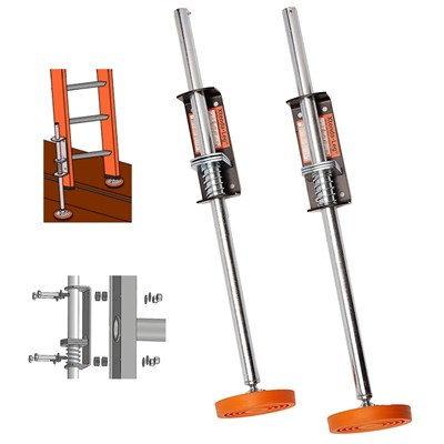 Ladder Leveler w/Rubber Feet (2 pack) Xtenda-Leg