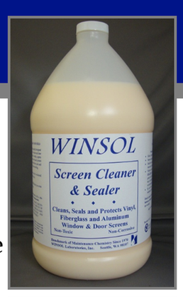 Winsol Screen Cleaner & Sealer