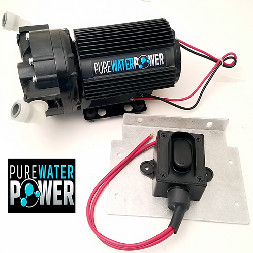 PWP 12V 5.3 GPM Booster Pump Kit