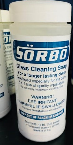 Sorbo Window Cleaning Powder