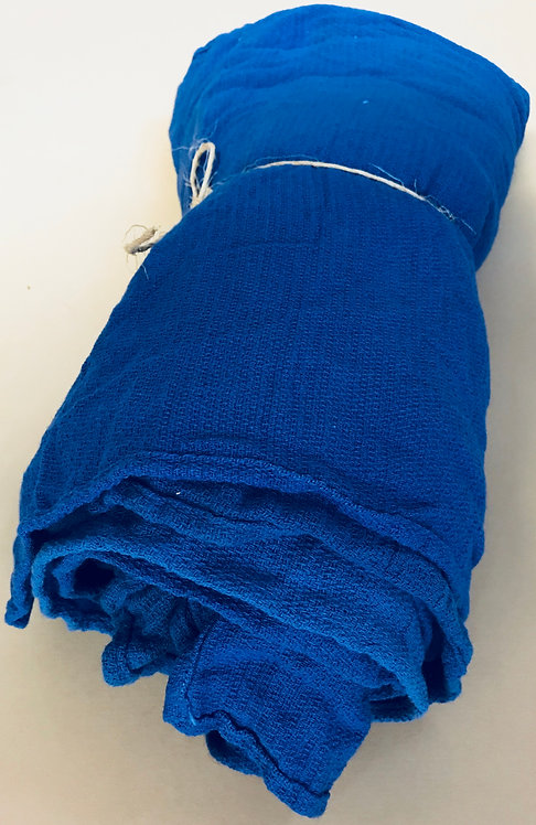 12 Blue Recycled Surgical Huck Towels