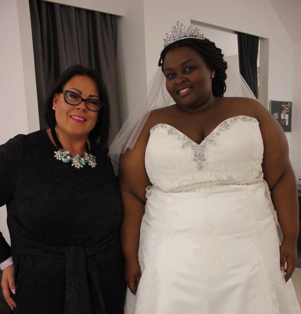 Alison and bride