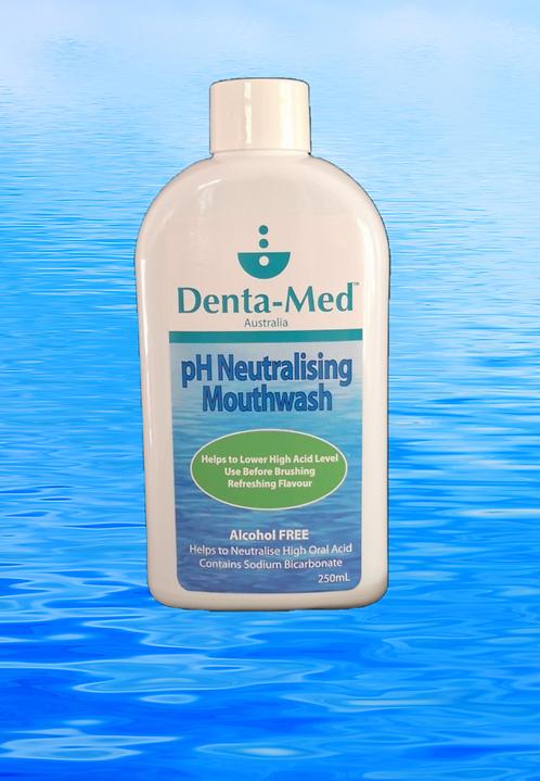 Denta-Med pH Neutralising Mouthwash 250mL Bottle