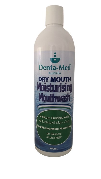 Denta-Med Moisturising Mouthwash 500mL