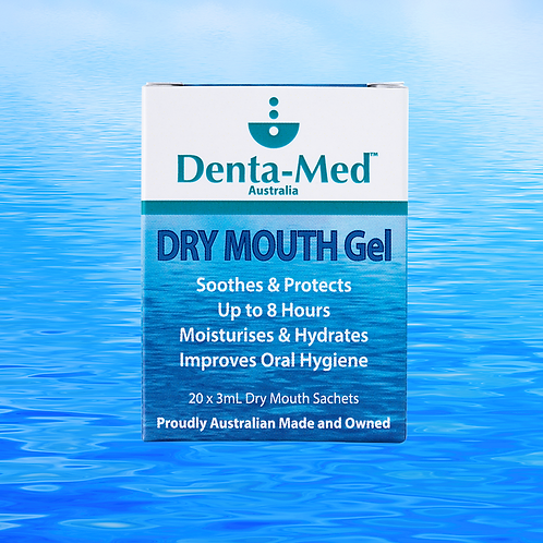 Denta-Med™ DRY MOUTH Gel - 20 x 3mL sachets