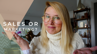 Is having a marketing and sales person the best way to have more visibility?