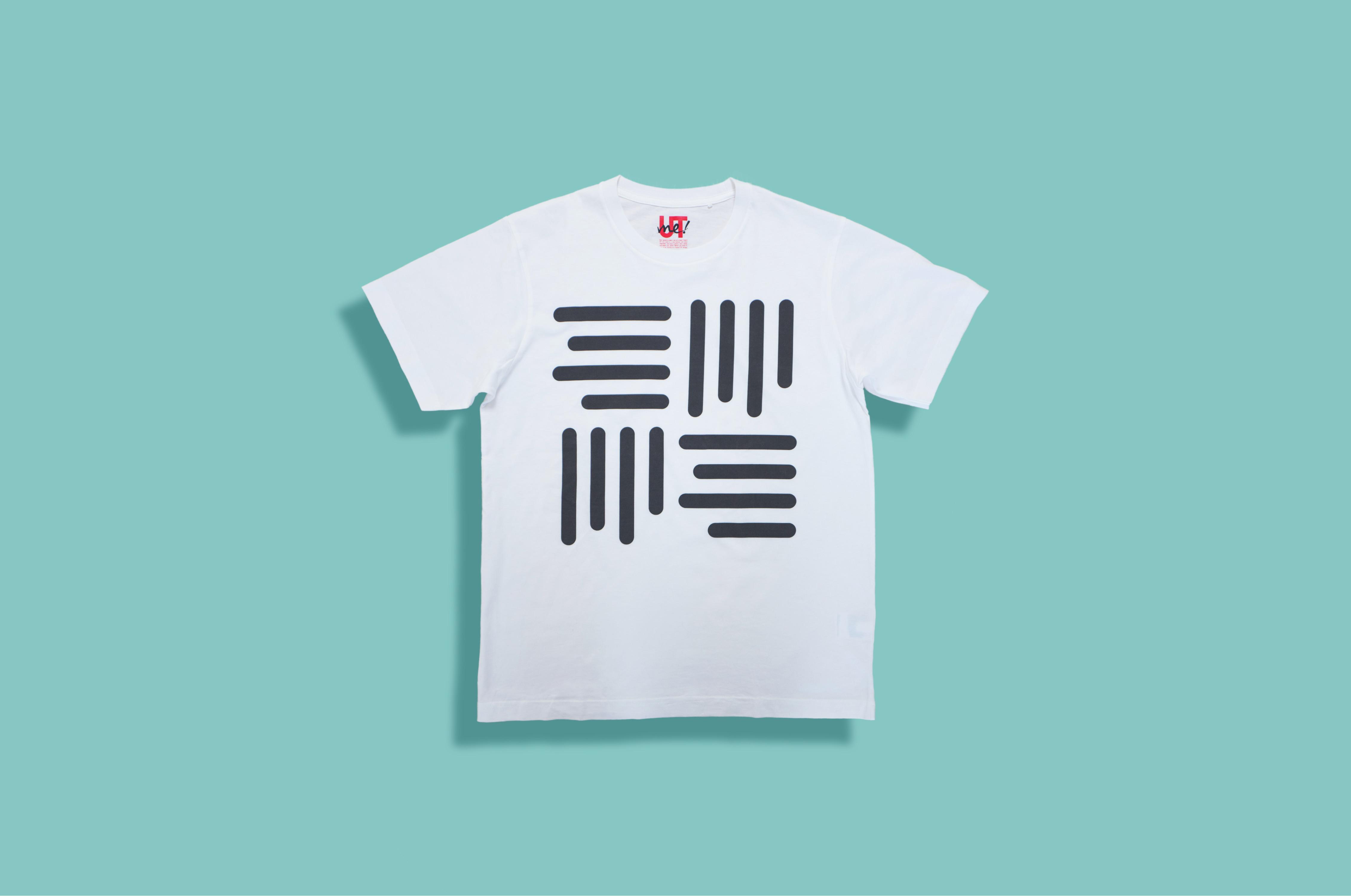 グラフィック ホワイトT-Shirt