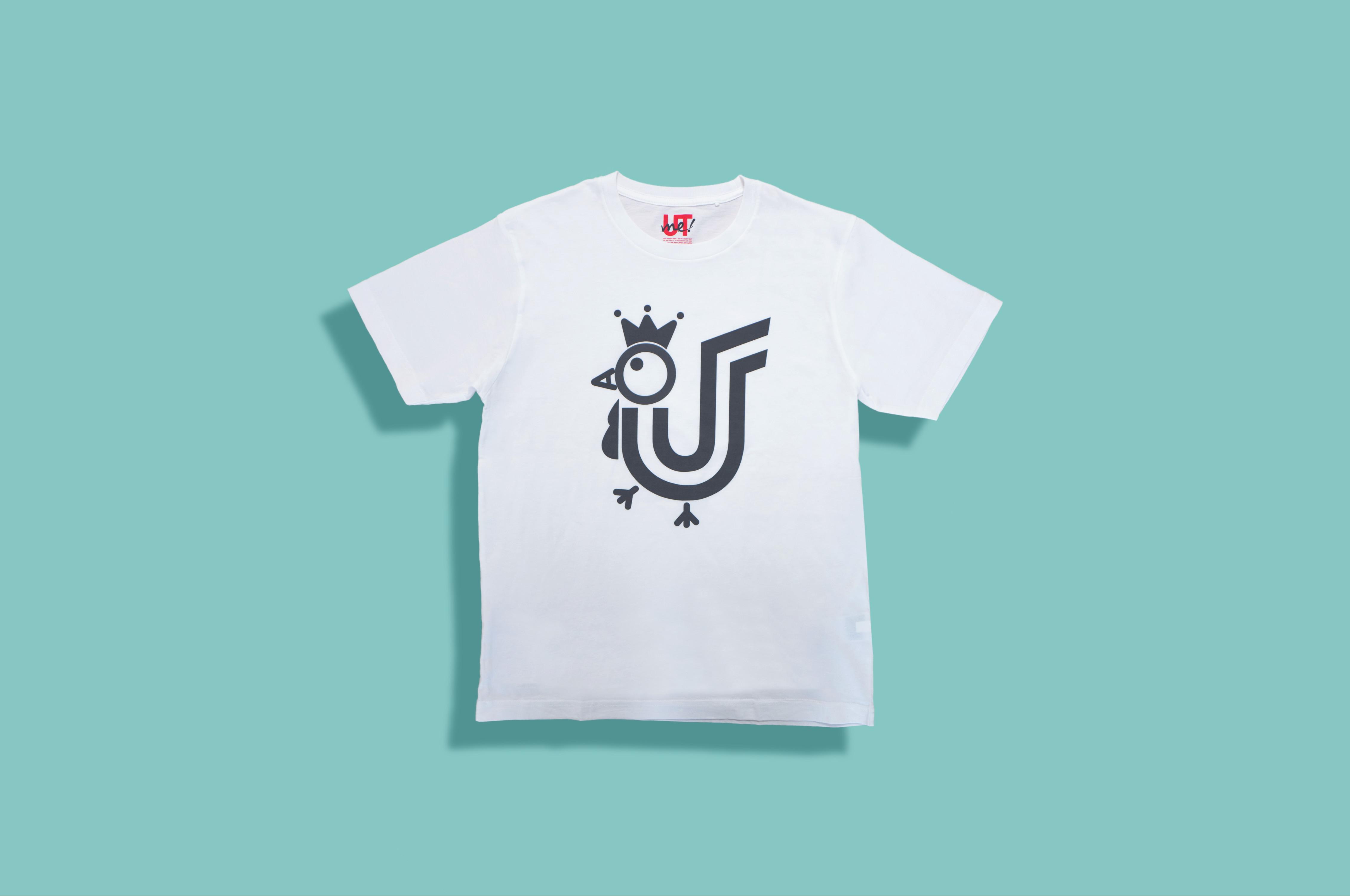 UTme グラフィック ホワイトT-Shirt