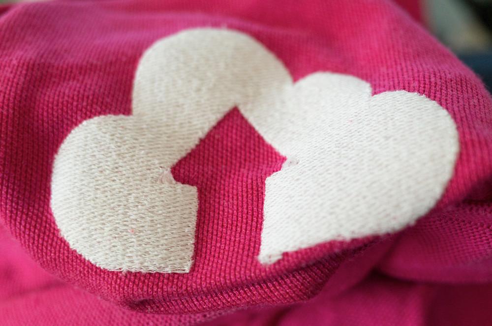 タタミ刺繍裏側