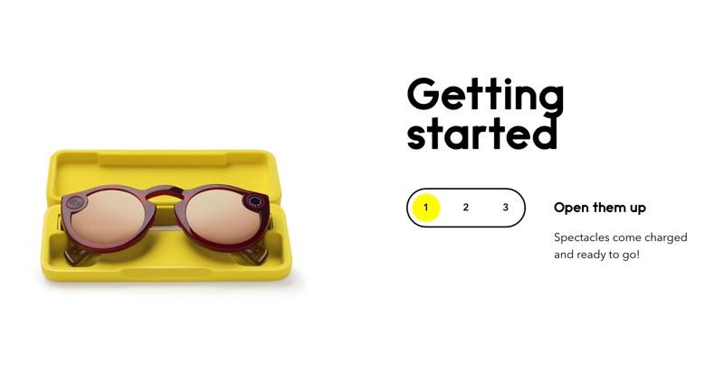 Snapchatグラスのメガネケース