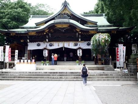 東京のゼロスポット 大宮八幡宮
