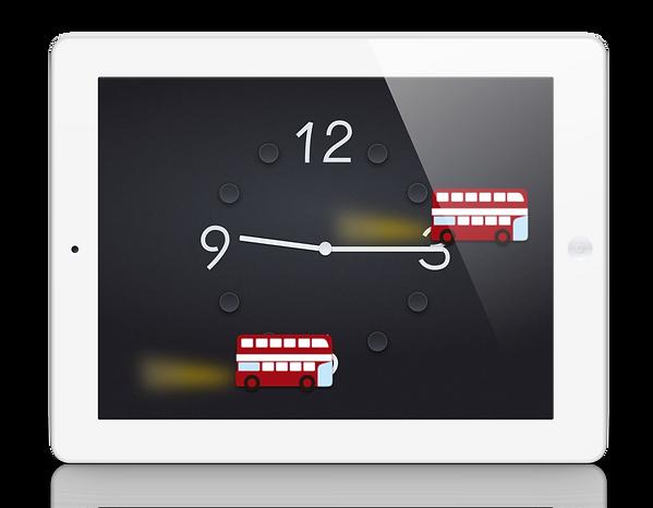 iPad 置き時計 アプリ